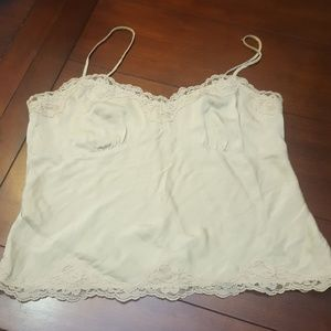 Delicate silk lace camisole